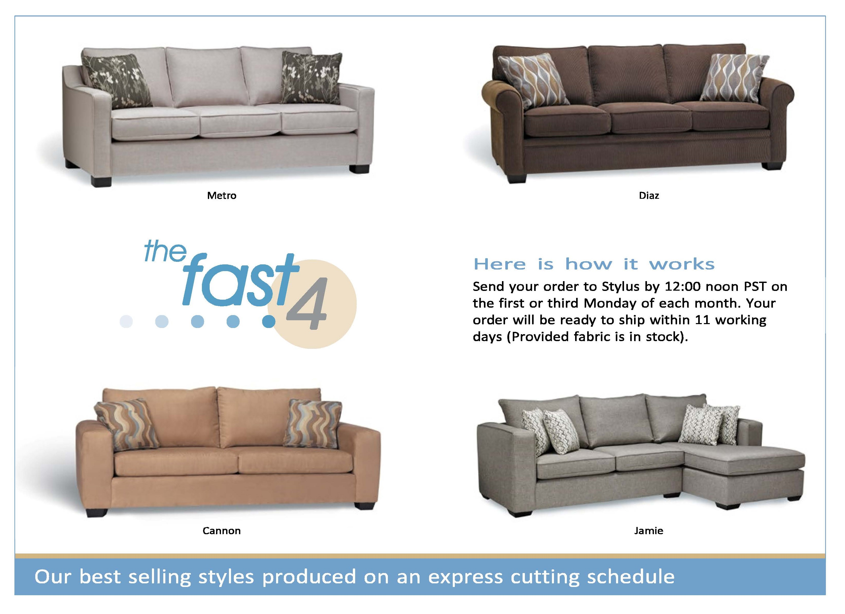 The Fast 4 Stylus Contract Furniture