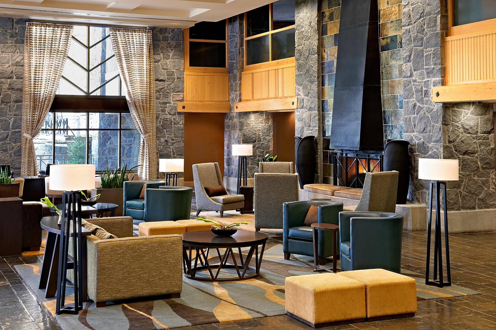 Charmant Tasting Room; Hotel Lobby